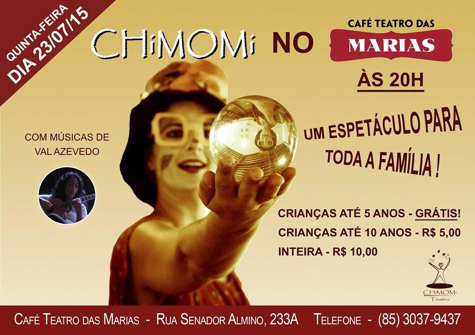 Folder CHiMOMi_Café Teatro das Maria