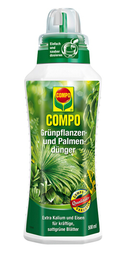 COMPO Liquid Fertilizer for Green Plants and Palms 500ml
