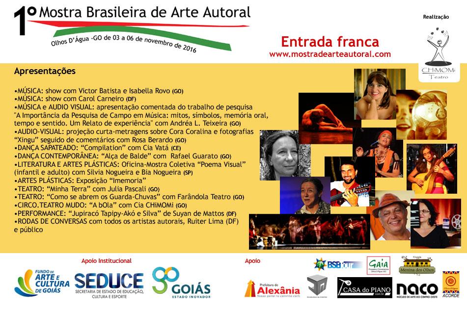 I Mostra Brasileira de Arte Autoral