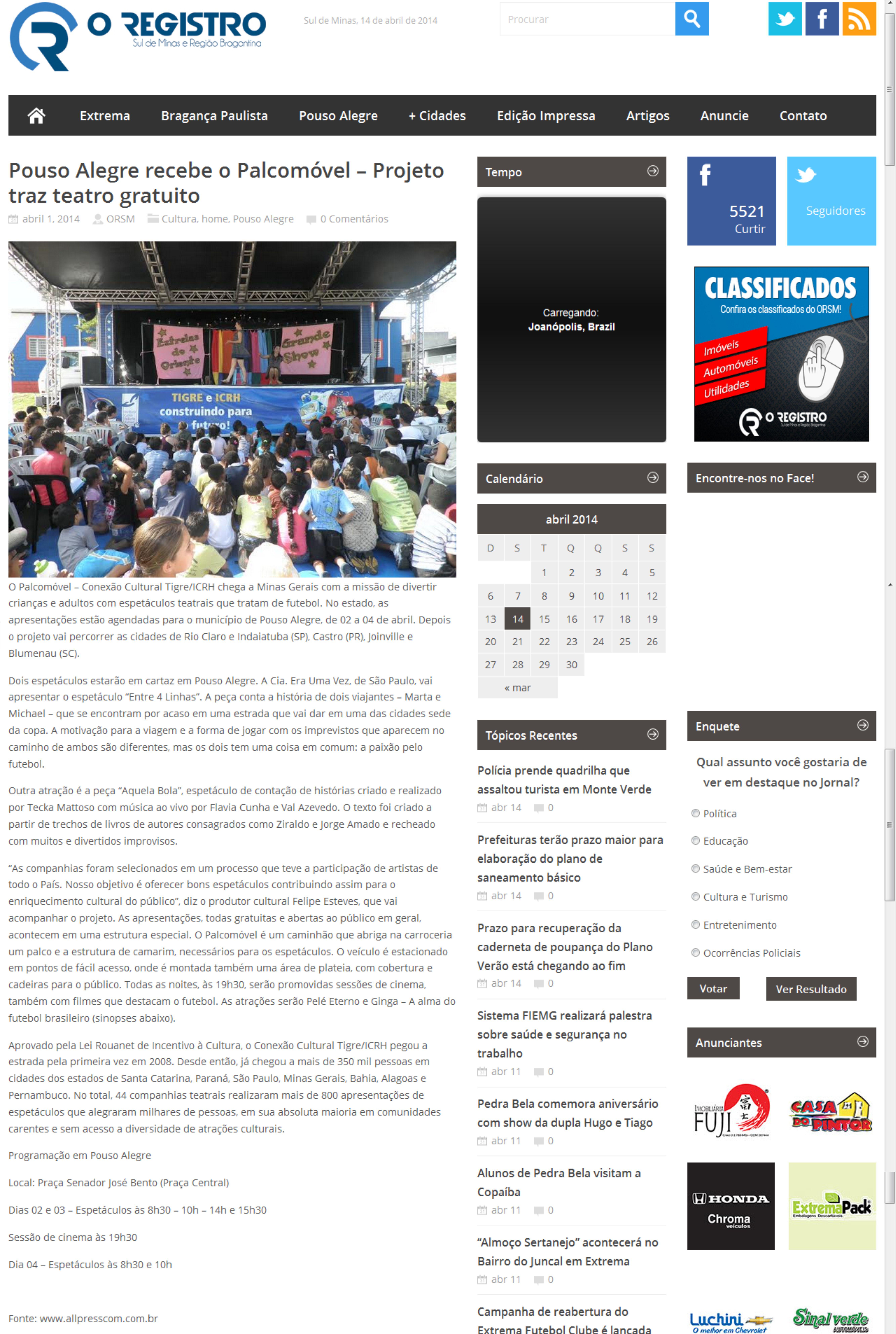 CHiMOMi_Minas Gerais_2014