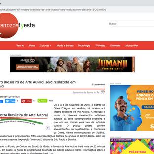 Reportagem site Arroz de Fyesta sobre a I MOBAA.