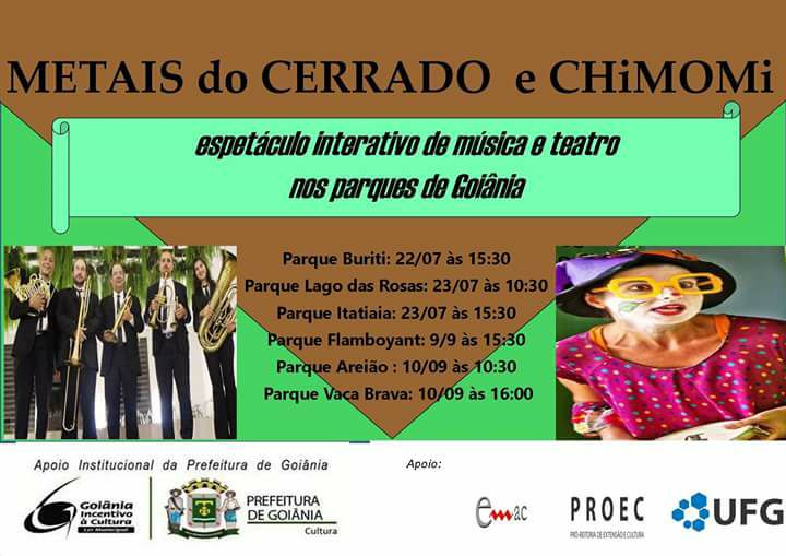 CHiMOMi e Quinteto Metais do Cerrado