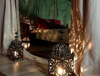 Chambre bedouine ambiance