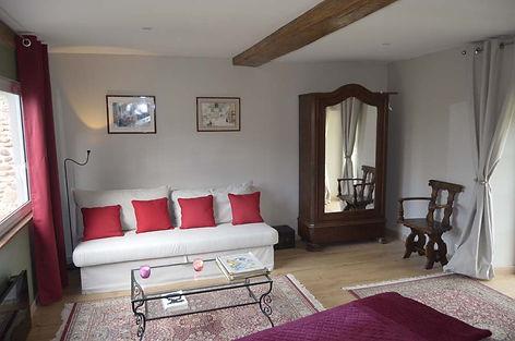 Chambre Agathe canapé