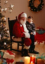 サンタと少年