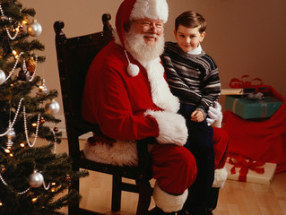 Asking Santa For Self-Control?