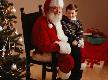 Santa Claus is Coming to Saint Coleman This Sunday 12/3 from 9:30-1:30!