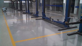 Epoxy flooring service in Orange County