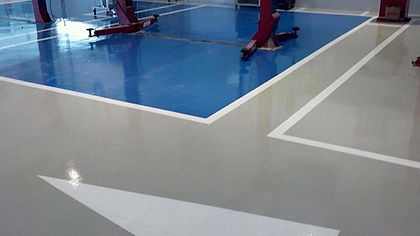 Epoxy floor service CA