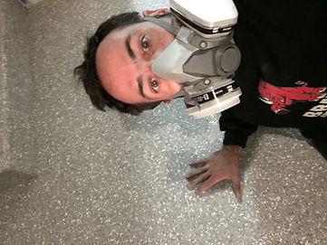 Epoxy coatings floor