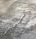crack repair - damage concrete floor