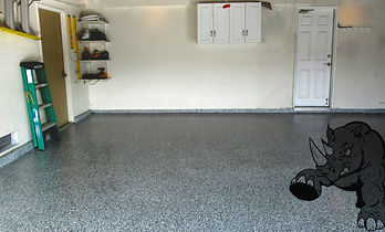Epoxy garage installation Orange County CA