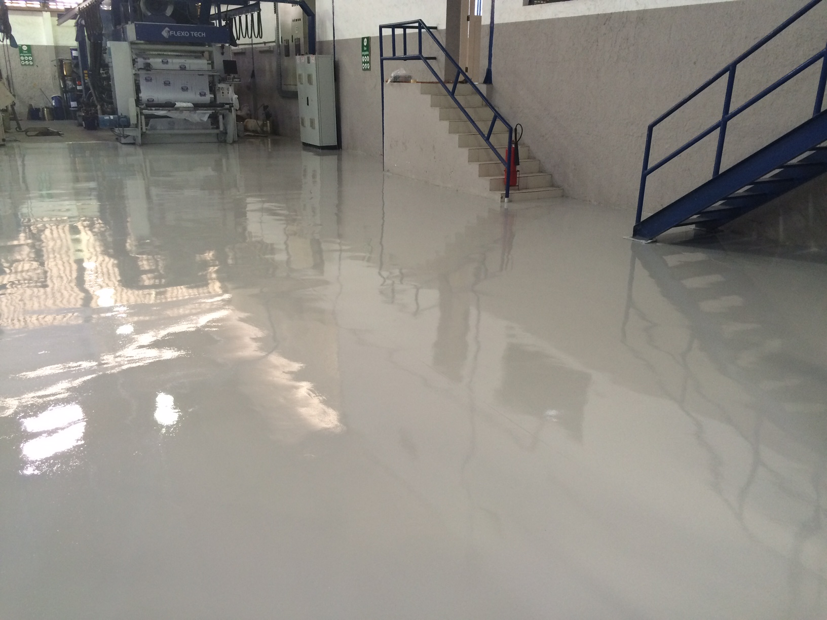 Solid Gray Epoxy Coating
