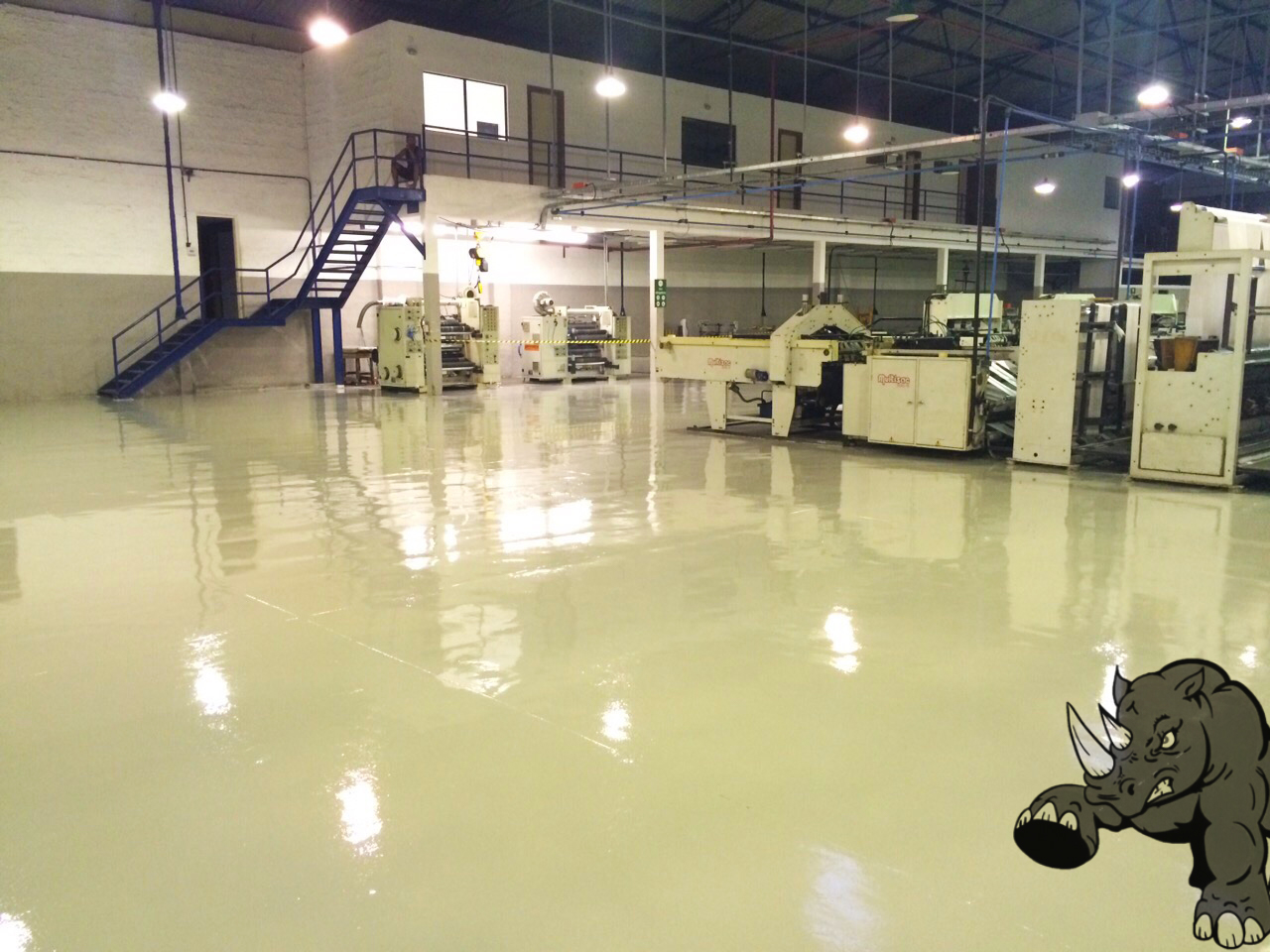 Solid Light Gray Epoxy