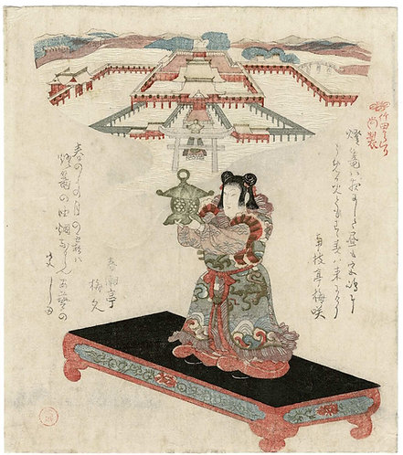 Shumman - Chinese boy holding a lantern