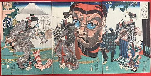 Kuniyoshi - Gosekku no uchi