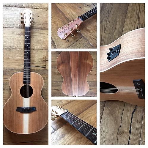 Cole Clark AN2H-LH-BLBL acoustic-electric left-handed guitar