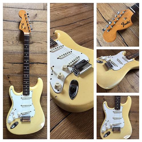 Rare 1971 left-handed blonde Fender Stratocaster