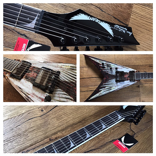 Dave Mustaine VMNT Angel of Death left-handed electric guitar