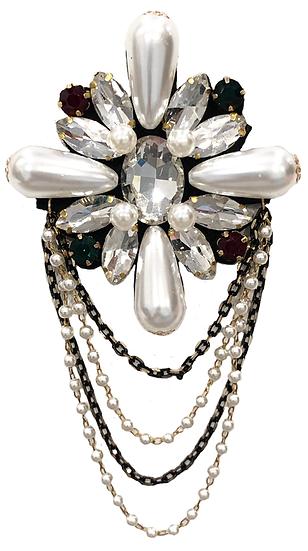 Diamanté Brooch-3