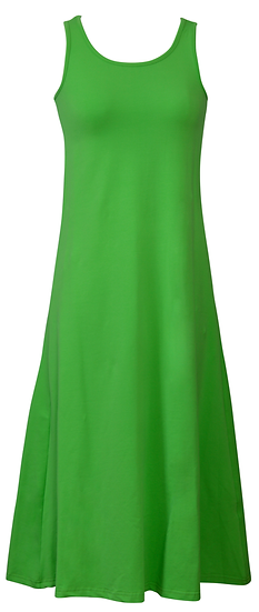 Essential Jersey Dress Green