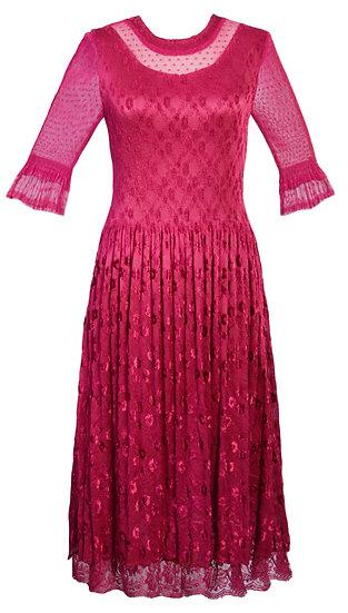 Fiesta Dress Pink