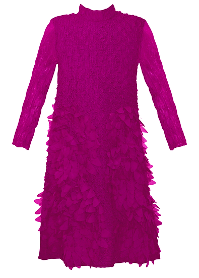 Feather Dress Pink