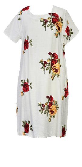 Amalfi Dress White