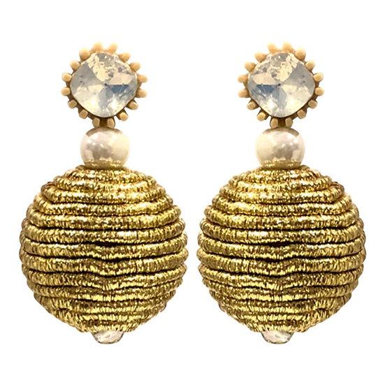 Bobble Earrings Gold