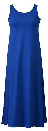 Essential Jersey Dress Blue