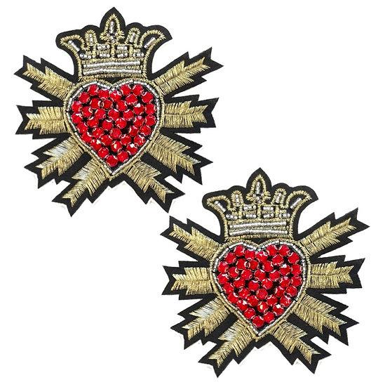 Royal Crest Shoe Clips