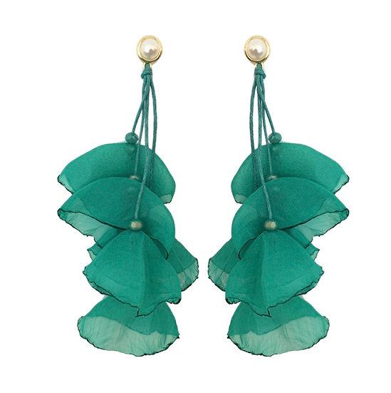 Delilah Earrings Green
