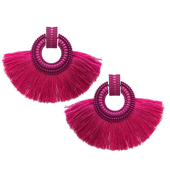 Fiesta Earrings Pink