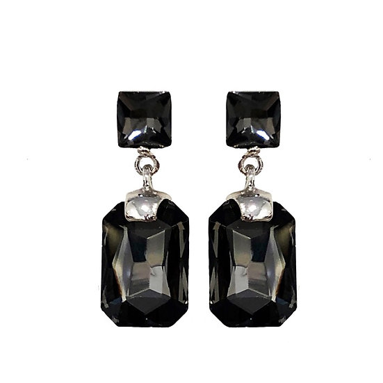 Cubism Earring Black