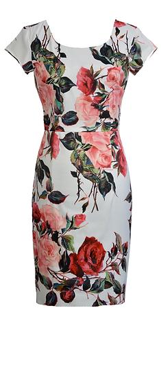 Rosalie Fitted Dress Short