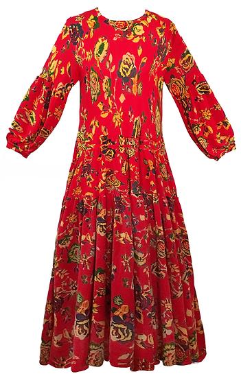 Woodstock Dress Red