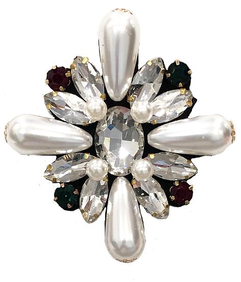 Diamanté Brooch-2