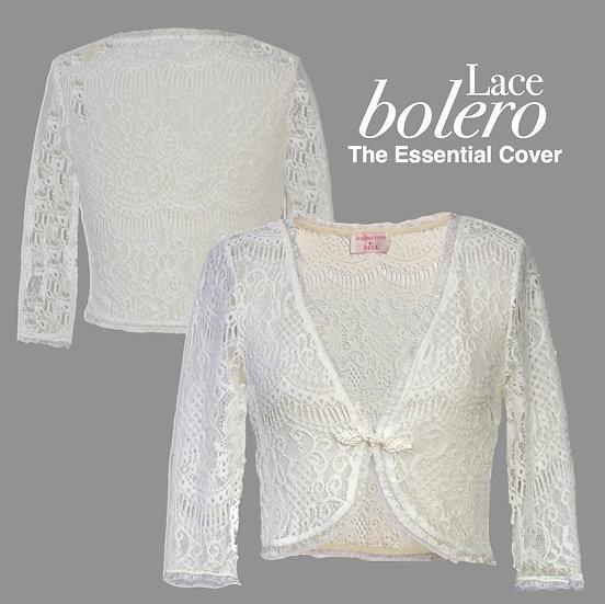 Lace Bolero White