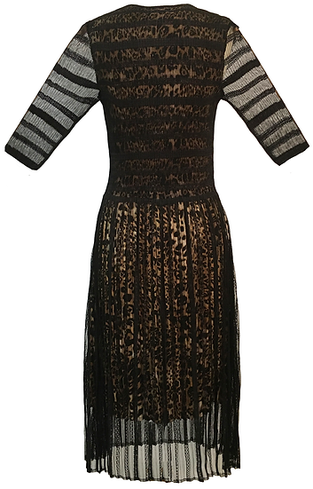 Tribe Dress Black