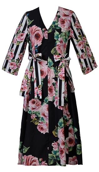 Floriade Dress 3/4 Sleeve