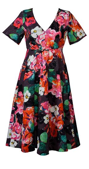 Lois Sway Dress Black