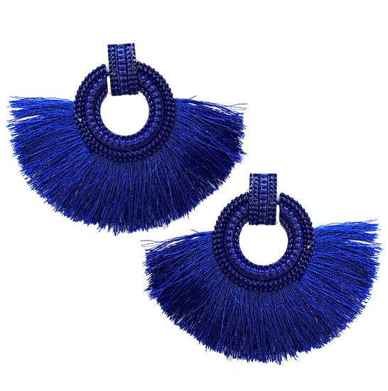 Fiesta Earrings Blue