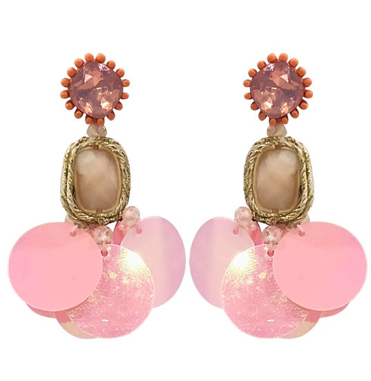 Gelato Earrings Pink