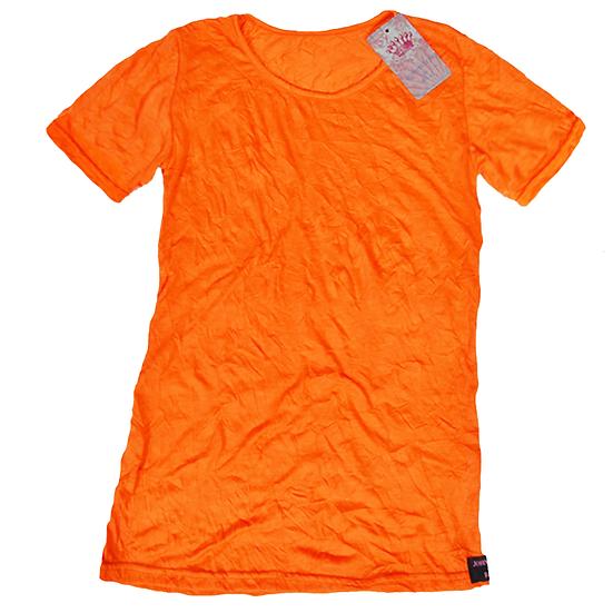 Crush Tee Orange/Short Sleeves