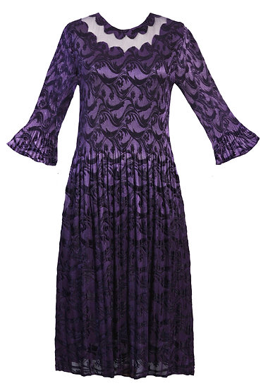 Gravity Dress Purple