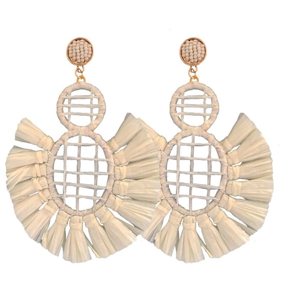 Carnival Earrings White