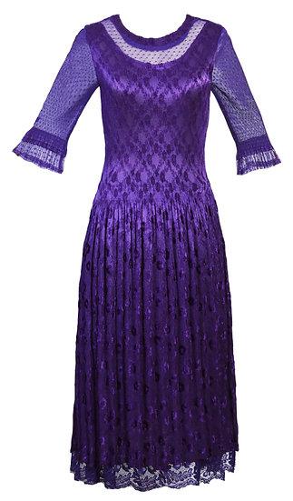 Fiesta Dress Purple