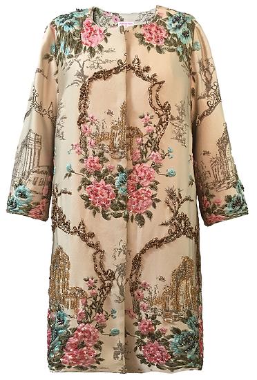 Regal Coat - Floral