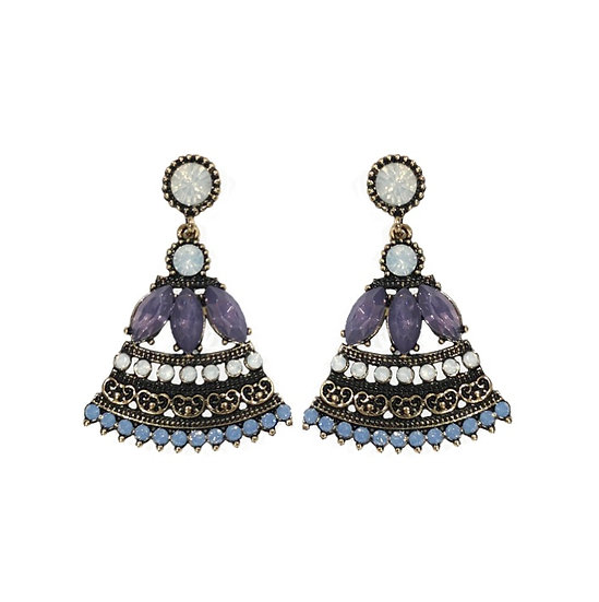Windsor Bell Earrings Blue