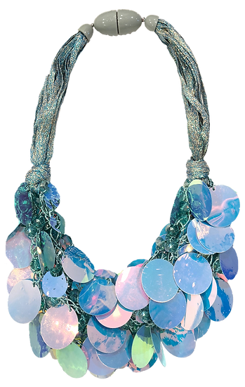 Gelato Necklace Blue